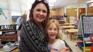 Oak Creek Academy Teacher and Student