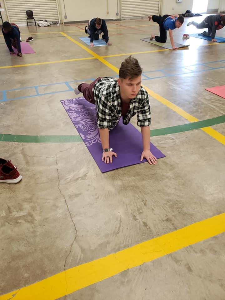 Yoga at Oak Creek Academy